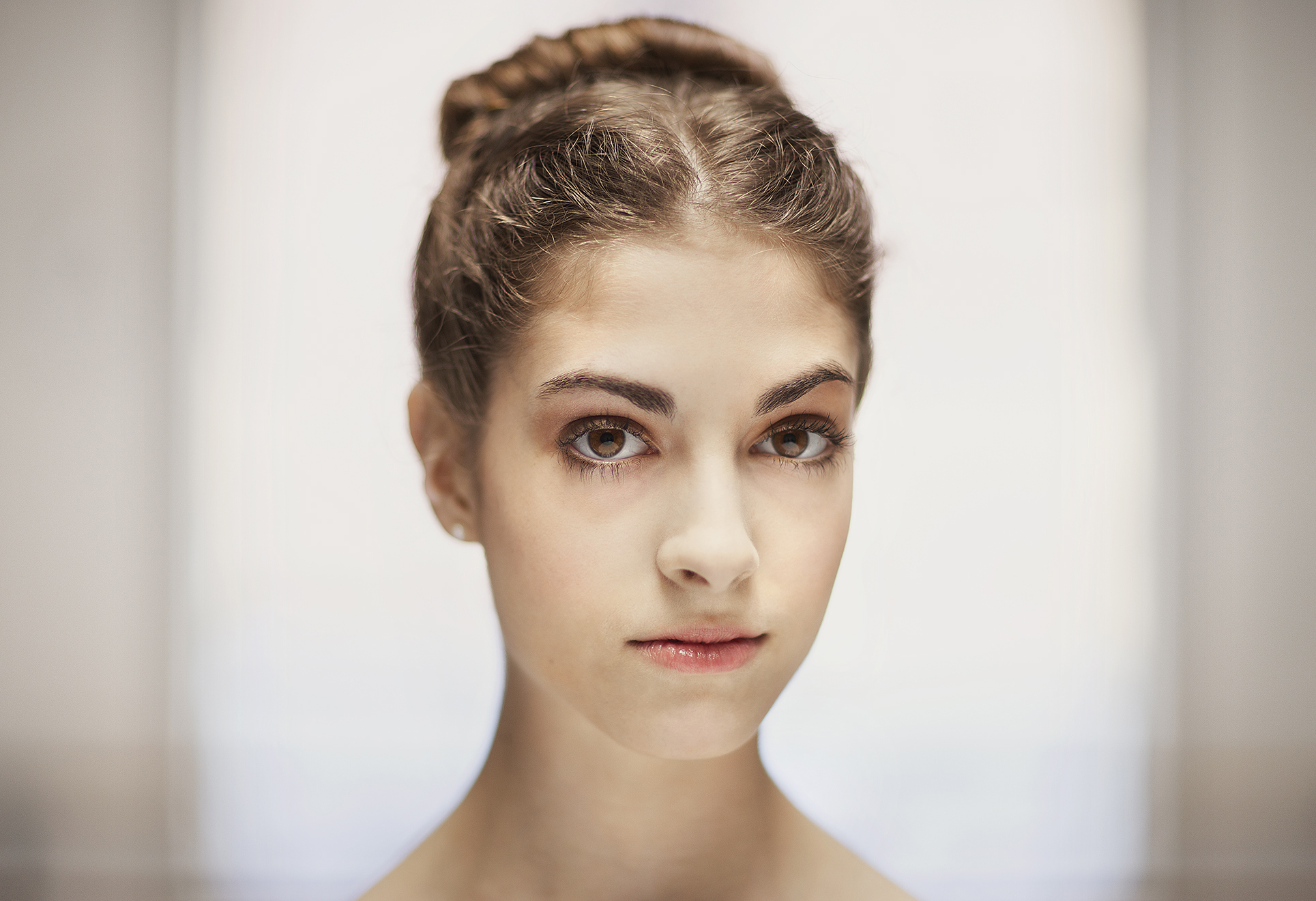 The Ballerina, portrait retouching