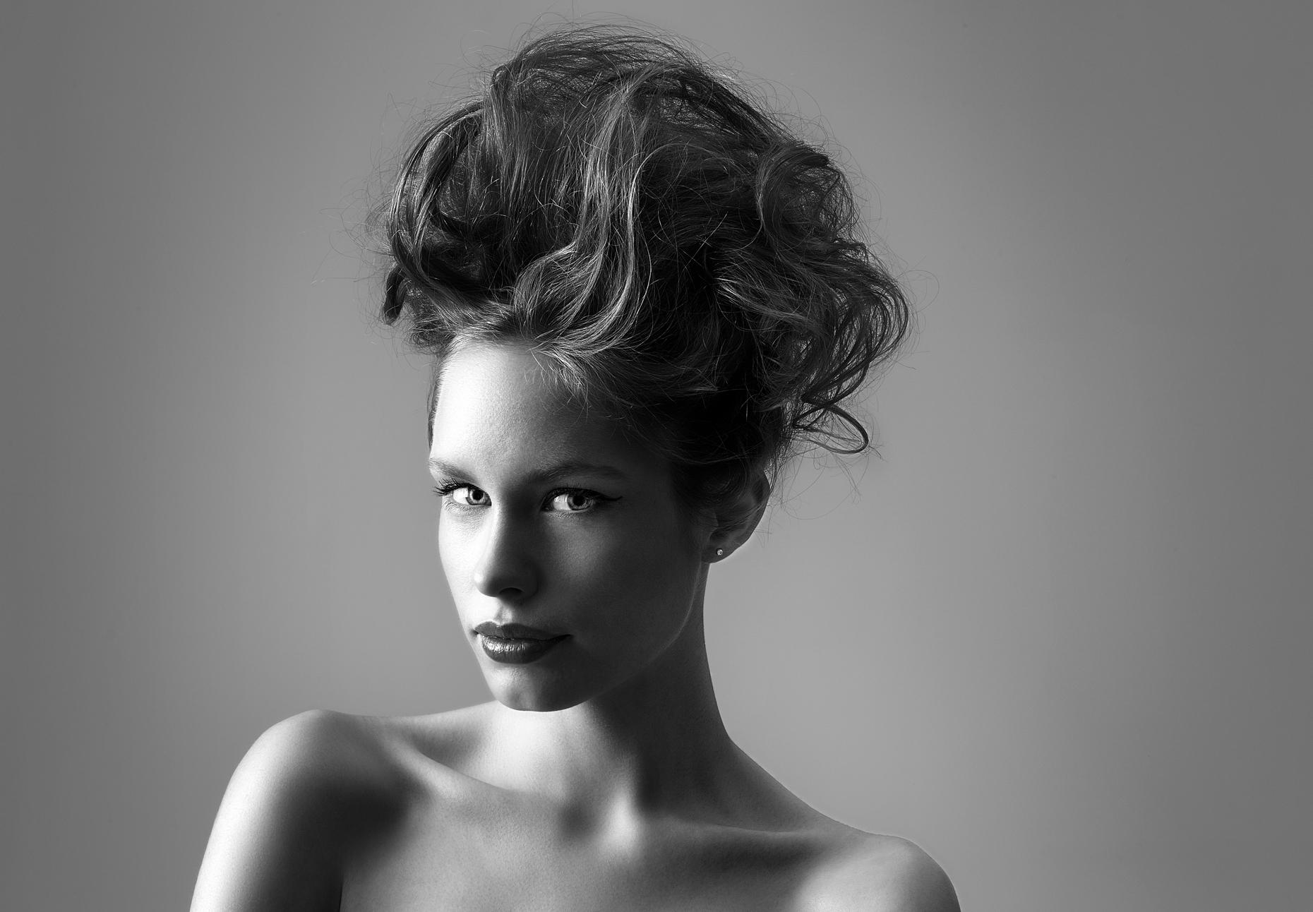 studio portrait retouching